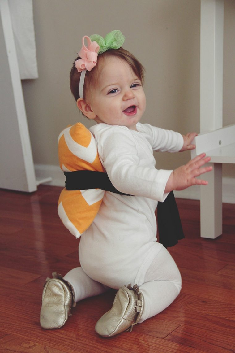 diy baby halloween costumes sushi