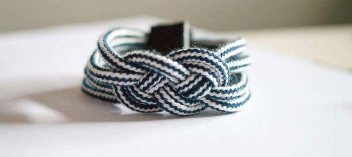 modele diy bracelet corde accessoires style bord de mer tuto facile
