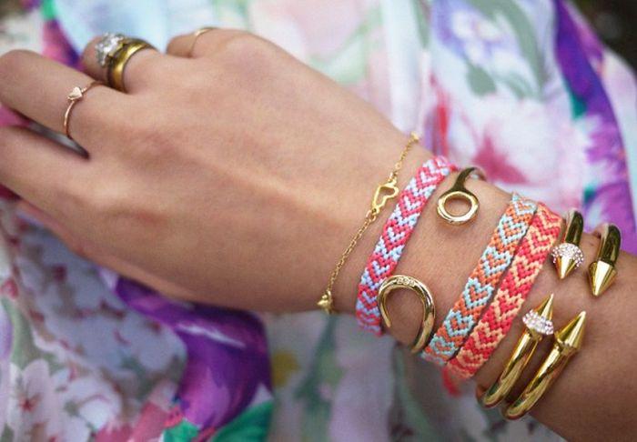 diy bracelet tisse cordes tutoriel activté manuelle adulte facile