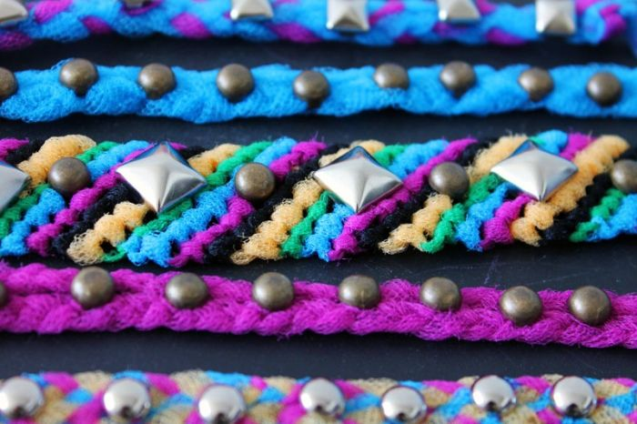 diy bracelet perles metal modele tutoriel bricolage a faire