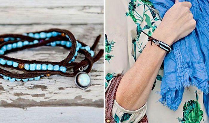 deco diy bracelet perles boheme chic accessoires faire soi meme
