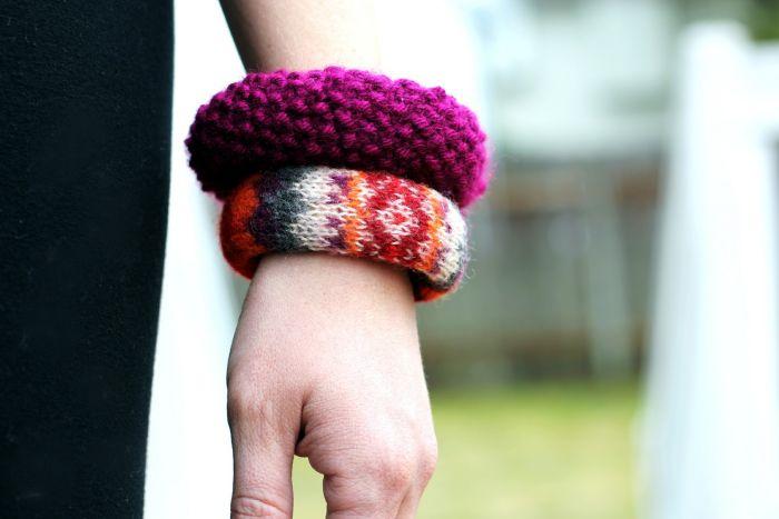 diy bracelet tissu pull use accessoires modernes a faire soi meme
