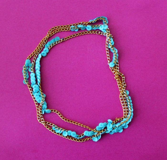 diy bracelet moderne style boho perles chene doree