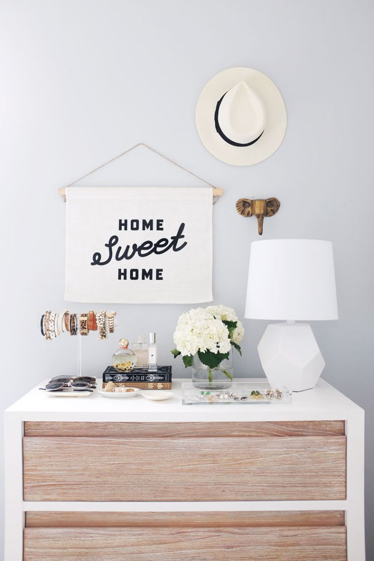 idee deco chambre diy meuble dressing rangement coiffeuse