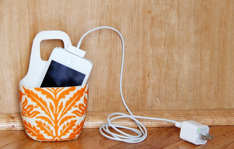 diy rangement chambre accessoire deco chargeur telephone portable