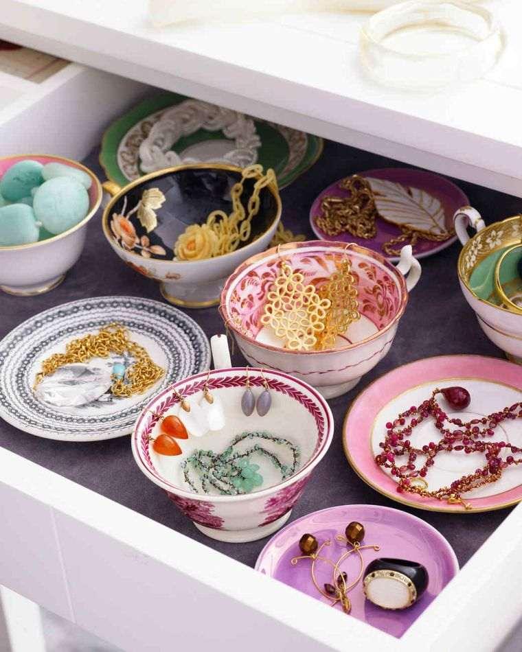 diy rangement tiroir porte bijoux faire rangement decoration