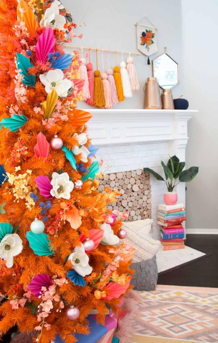 fabriquer-decoration-automne-couleur-orange-idee