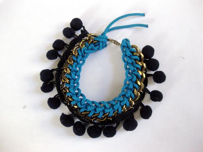 idee pour faire un bracelet diy tuto facile accessoire boho corde chaine