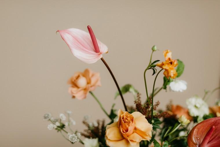 déco automne pas cher fleurs bouquet déco table