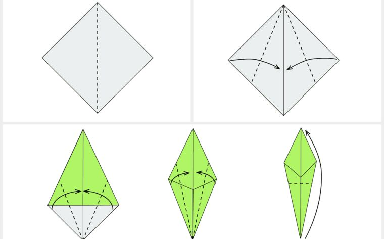 fleurs-origami-faciles-tulipe-tutoriel-simple