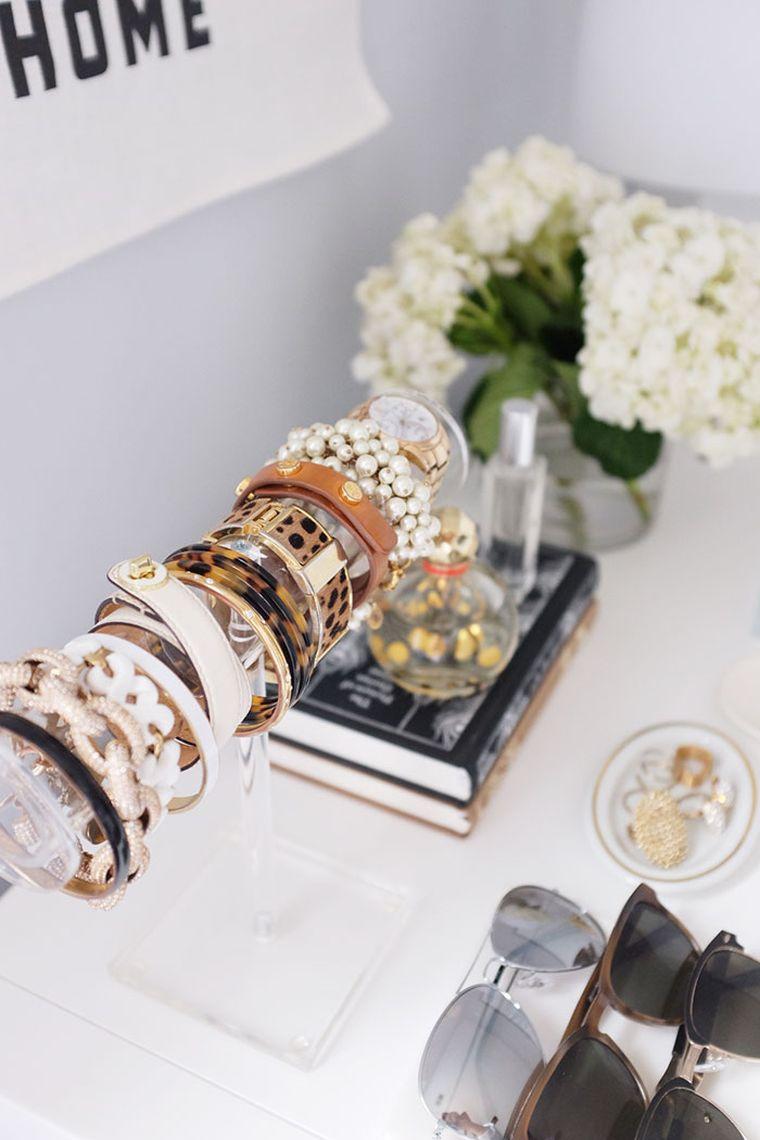 idee petit rangement chambre astuces porte bracelet bijou