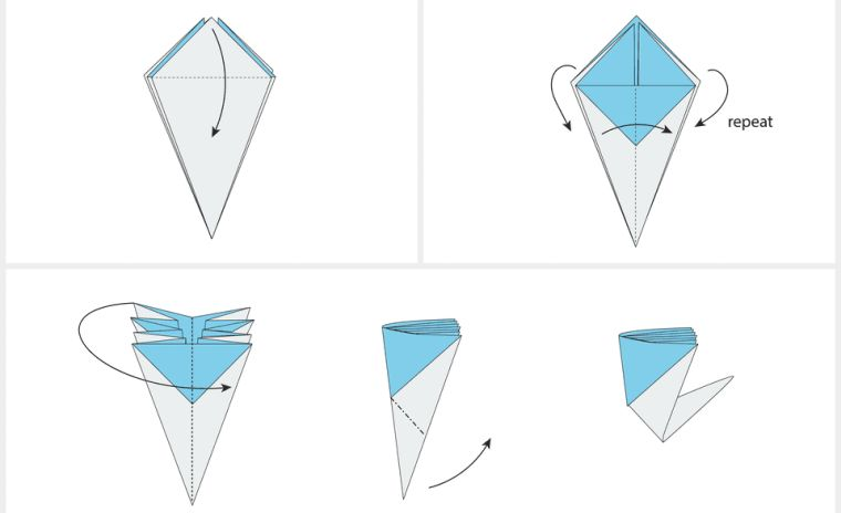 origami-facile-fleur-pliage-etape-par-etape