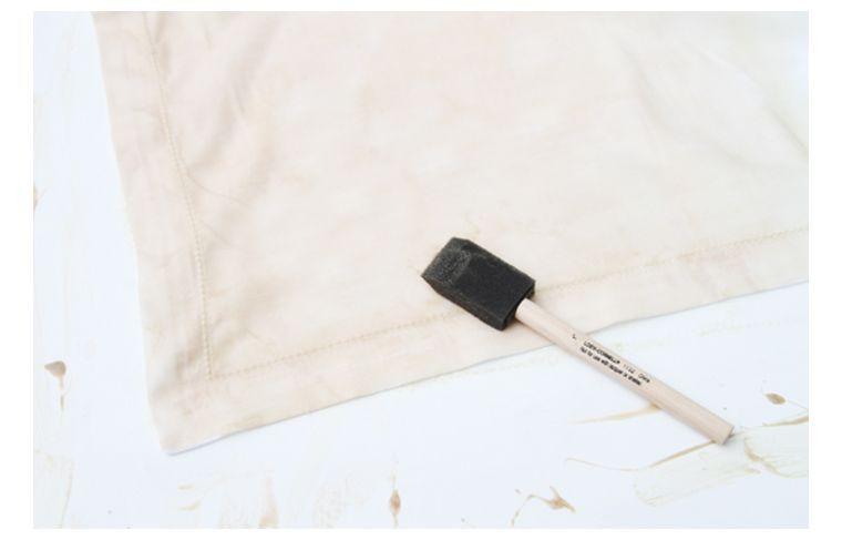 peinture-serviette-decoration-de-table-automne