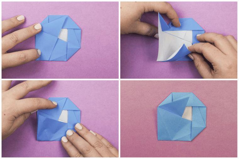pliage-fleur-origami-camelia-papier-deco
