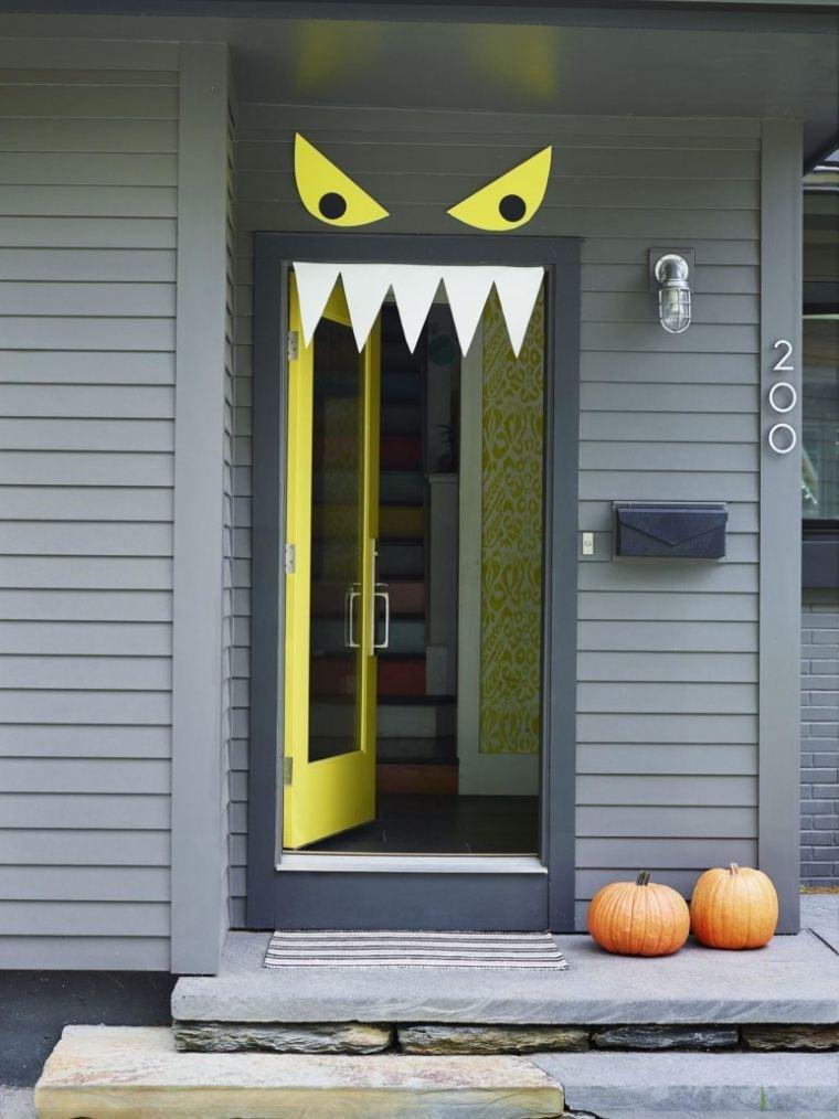 idée déco Halloween à fabriquer original DIY