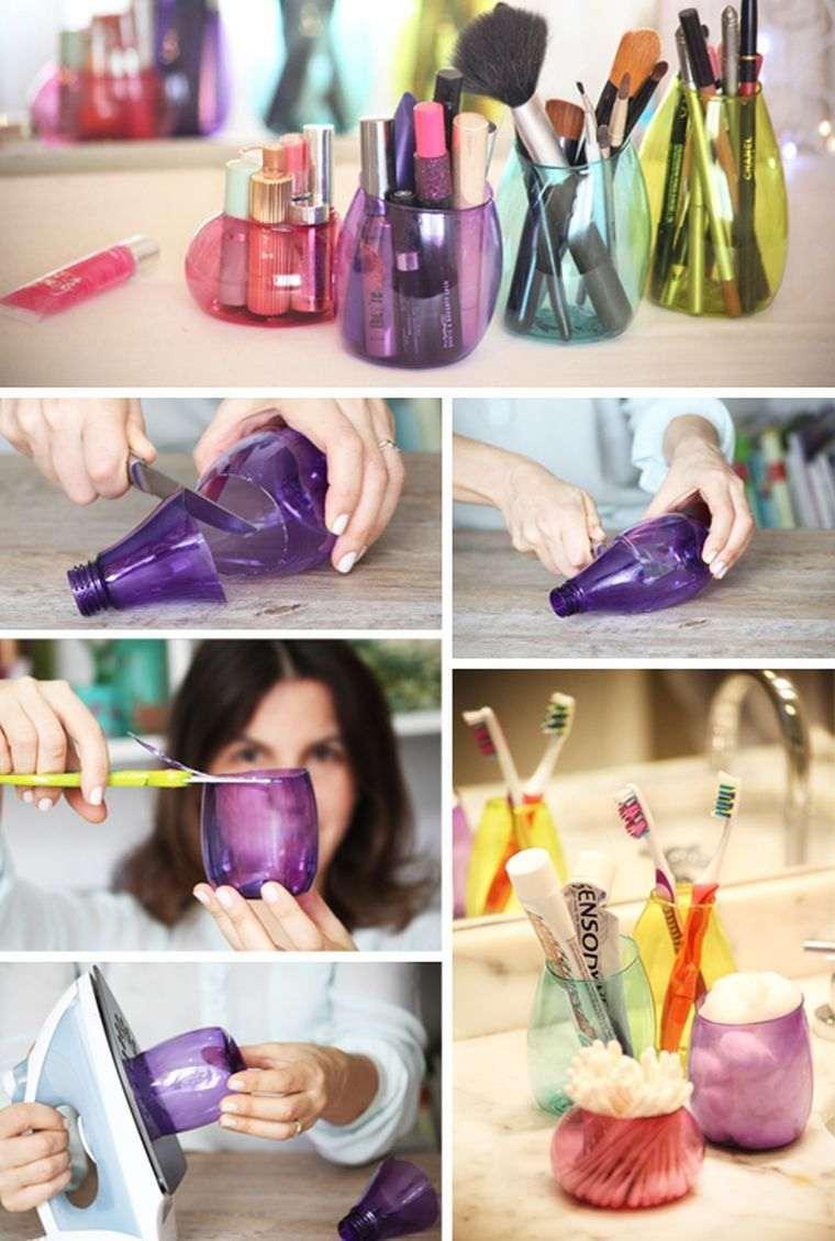 accessoires rangement maquillage diy chambre rangement coiffeuse salle de bain
