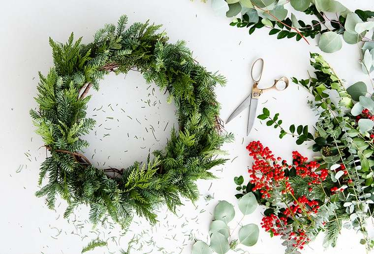 deco-de-noel-diy-couronne-noel-diy-idees