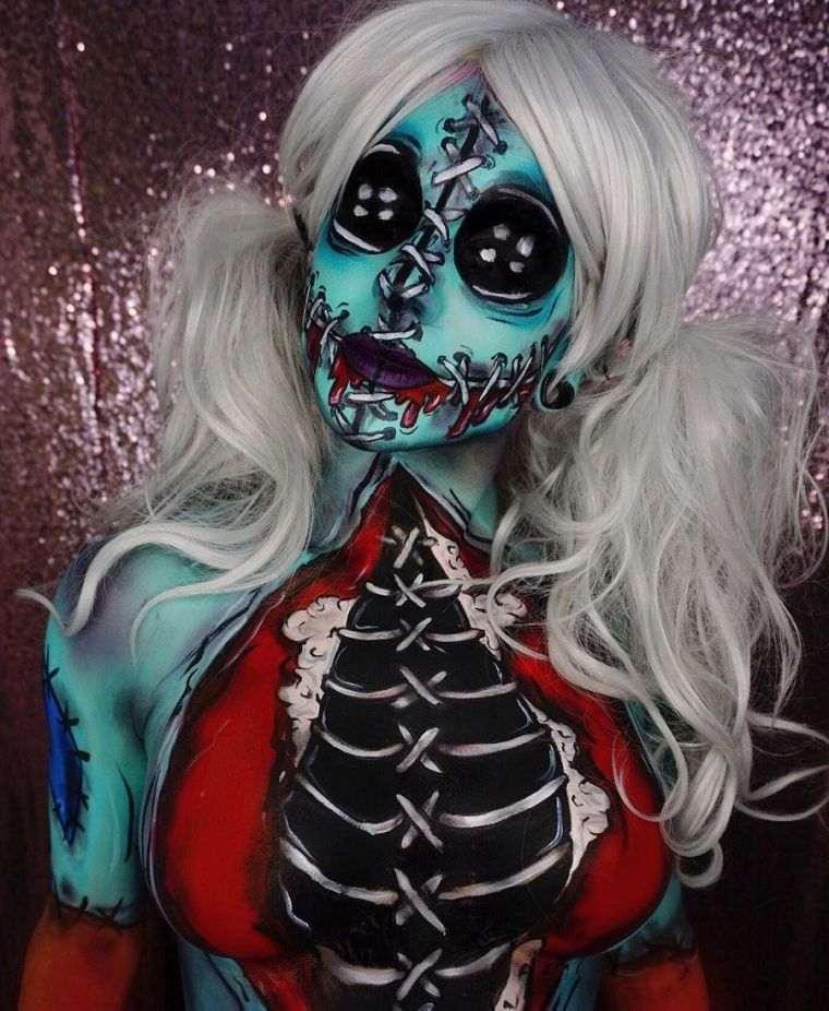 deguisement-effrayant-femme-pour-halloween