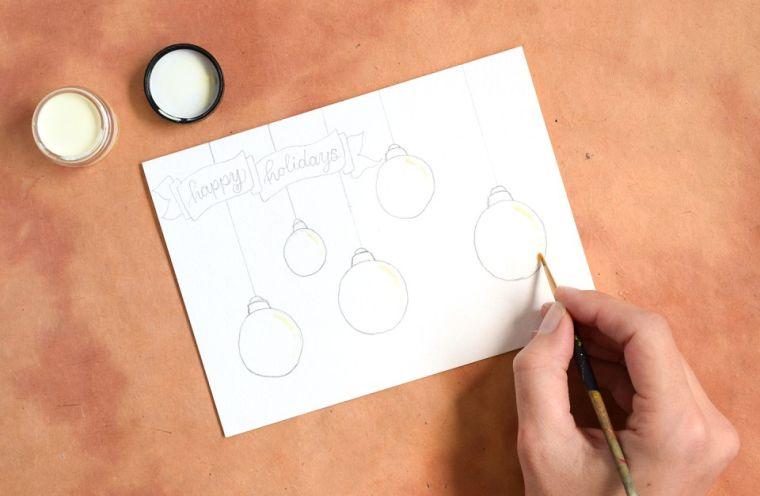 fabrication-de-cartes-de-noel-etiquettes-cadeaux-de-fete