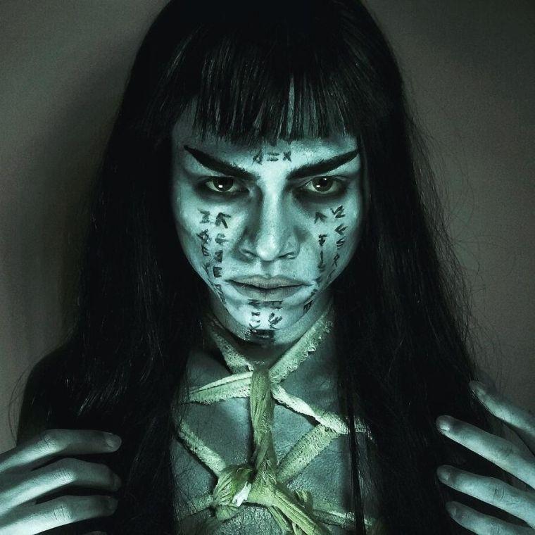halloween-maquillage-effrayant-sorciere