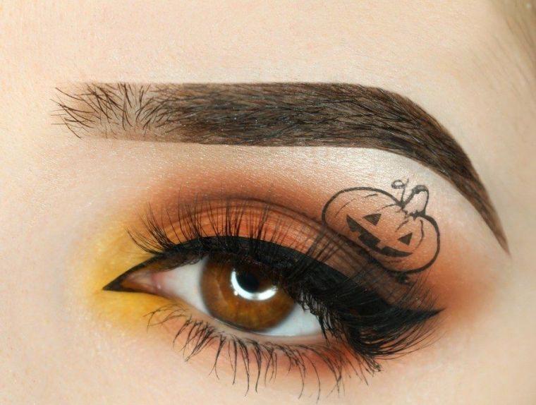 halloween-maquillage-original-yeux-femme