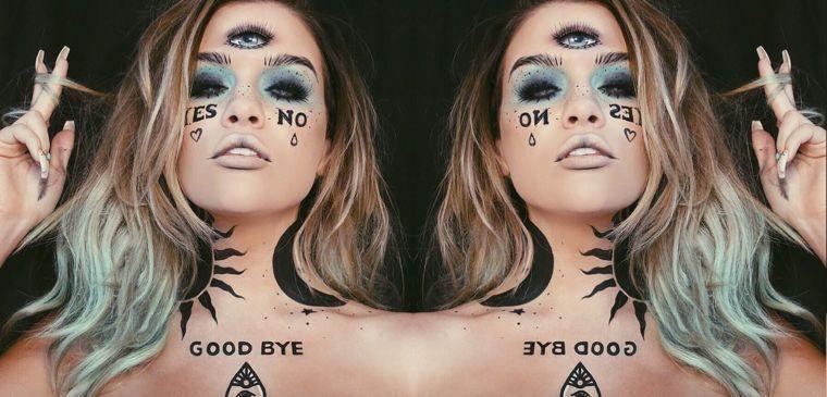 idee-maquillage-halloween-pour-femme-original