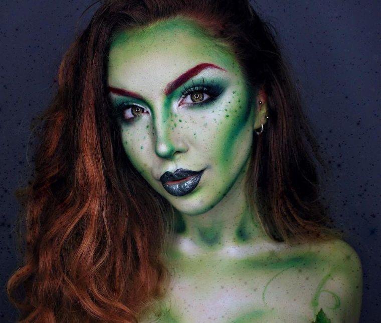joli-maquillage-d'halloween-pour-femme-fee