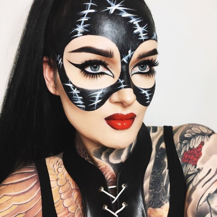 maquillage-femme-pour-halloween-idee-originale