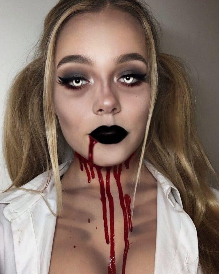 maquillage-halloween-femme-effrayant-zombie
