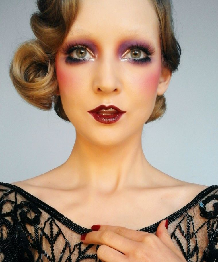 maquillage-halloween-femme-simple-idee-classy