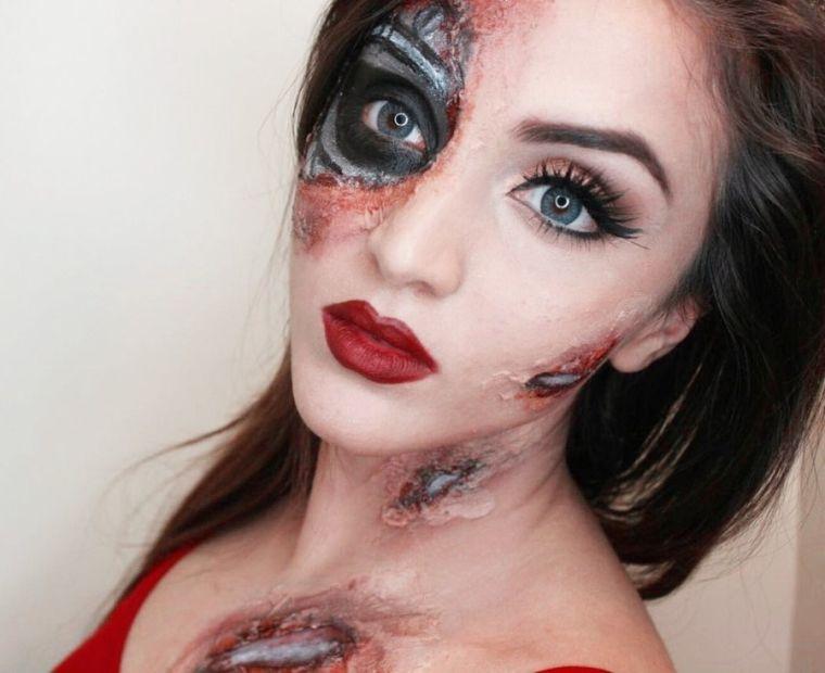 maquillage-halloween-zombie-tete-de-mort-pour-femme