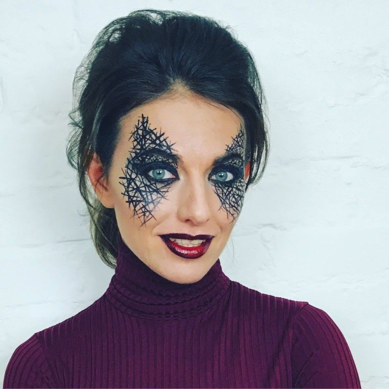maquillage-simple-halloween-fille-modele