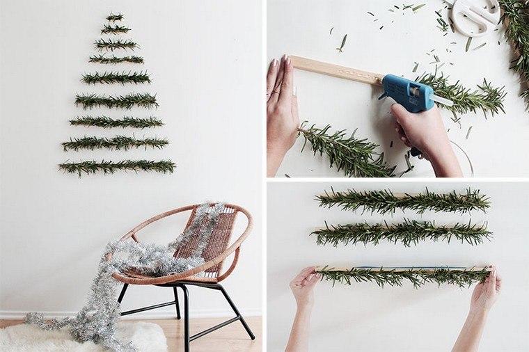 tuto déco Noël idée sapin alternatif