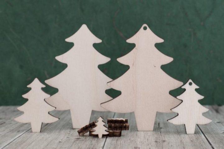 Sapin en bois contreplaqué – comment en fabriquer un et l'utiliser dans son décor de Noël ?