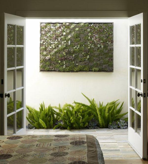 installer mur végétal intérieur idée