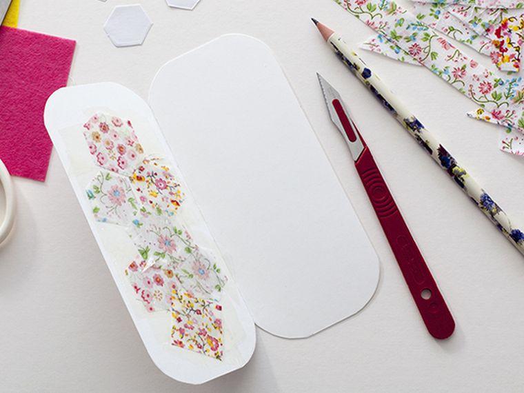 patchwork diy facile-tutoriel-fabrication-marque-page