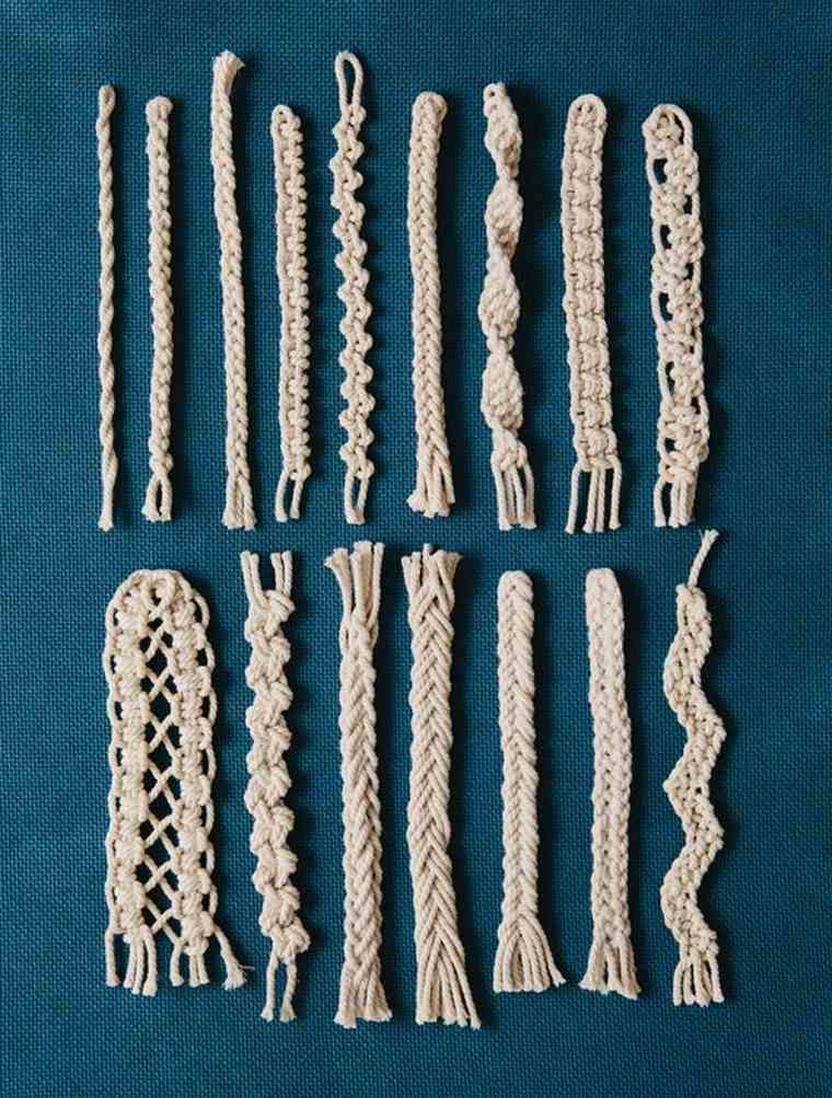 macramé suspension diy idées bracelet macramé suspension déco