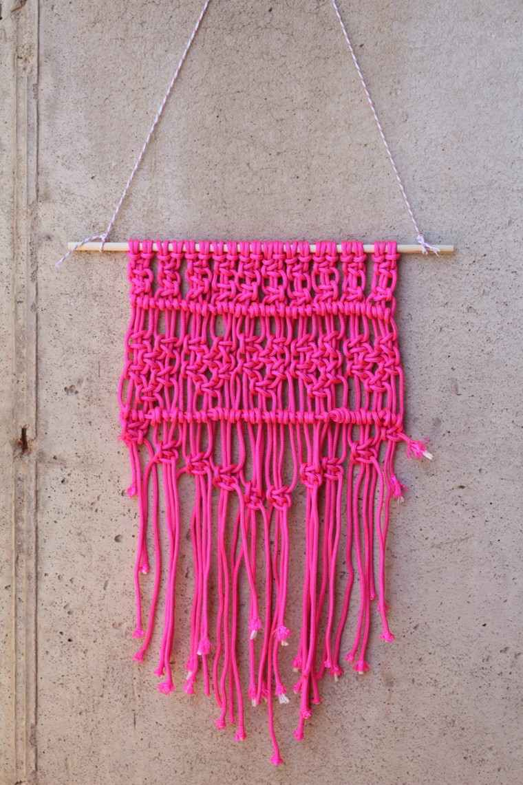suspension-en-macrame-diy-rose