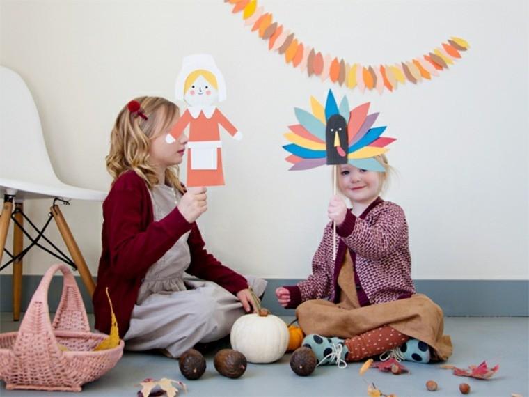 activité pâques enfant diy carton guirlande oiseau masque fille idée