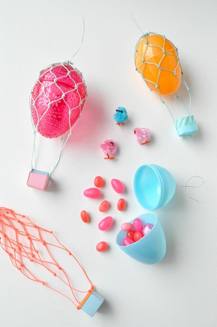 bricolage de pâques pour enfant diy activité manuelle idée charlière original oeufs