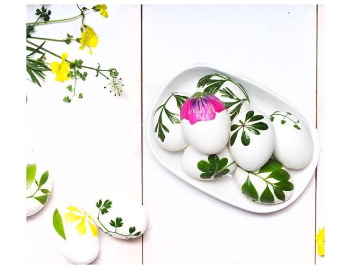6 idées déco de Pâques à faire soi-même ou avec ses enfants autour de la décoration d'oeufs !