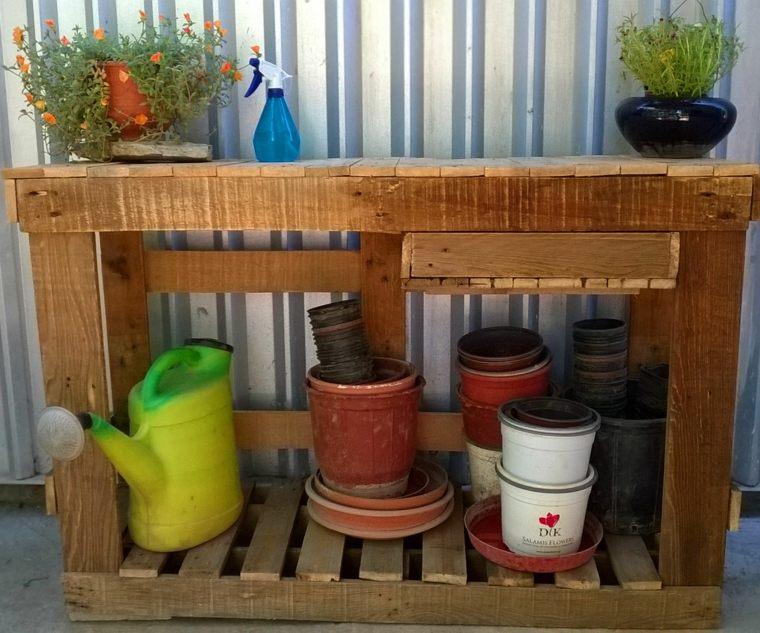 diy rangement outils de jardin meuble-recup-bois