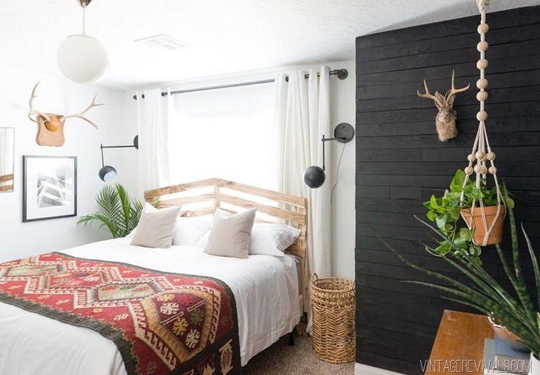 idée tête de lit DIY en palette a faire