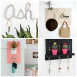 Porte clé mural à faire soi-même : 6 tutoriels de DIY décoration originaux