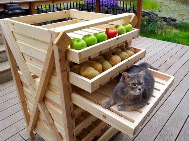 rangement-jardin-palette-de-bois-semences-fruits