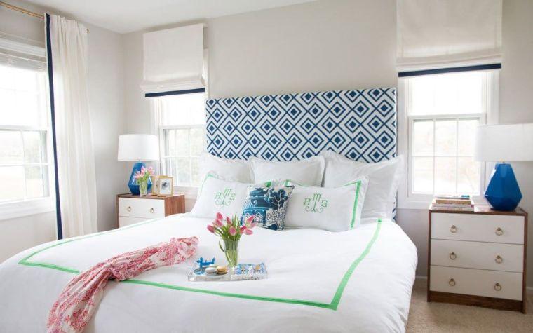 tête de lit a faire soi meme avec textile