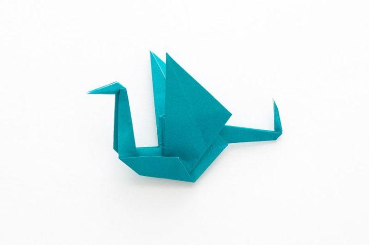 origami facile pliage-grue-papier-modeles-guide-tuto