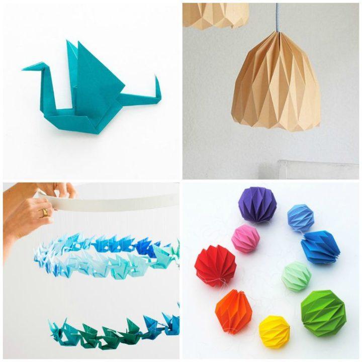Découvrez l'origami facile avec ces 3 tutoriels de DIY déco en papier !