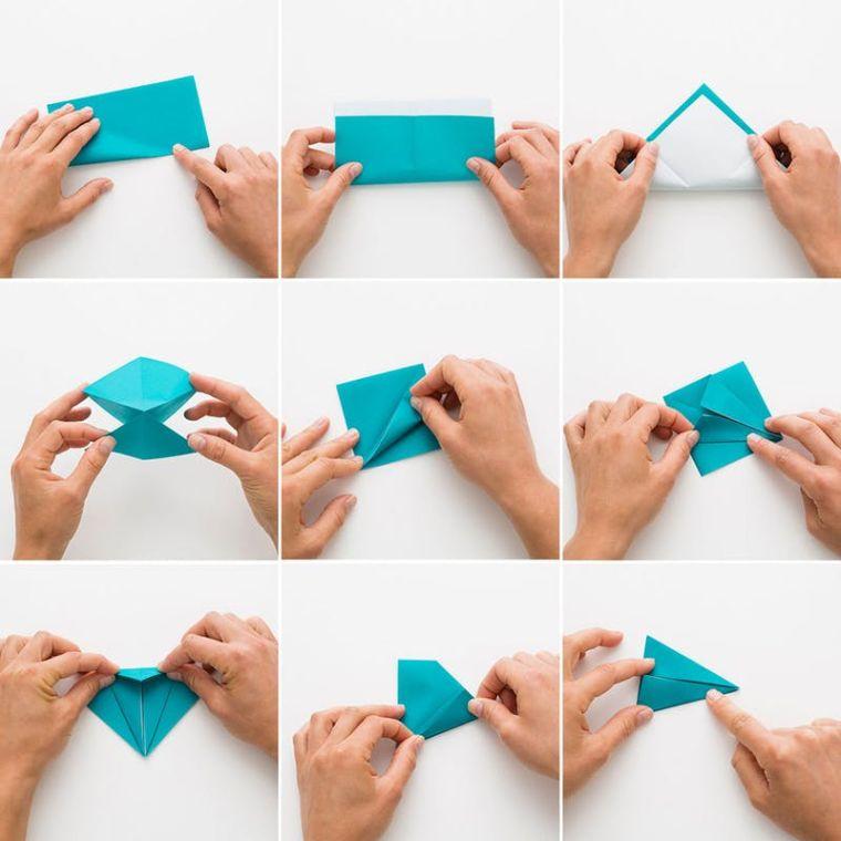 origami facile tutoriel-grue-en-papier-pliage-etapes