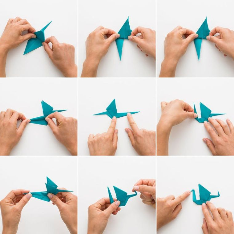 origami facile comment-faire-grue-papier-tuto